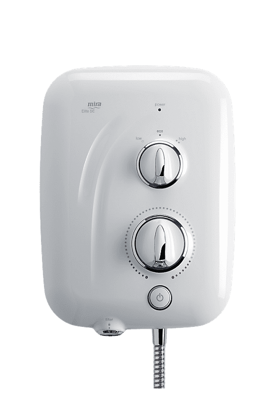 Mira Elite SE 9.8kW Pumped Electric Shower 2