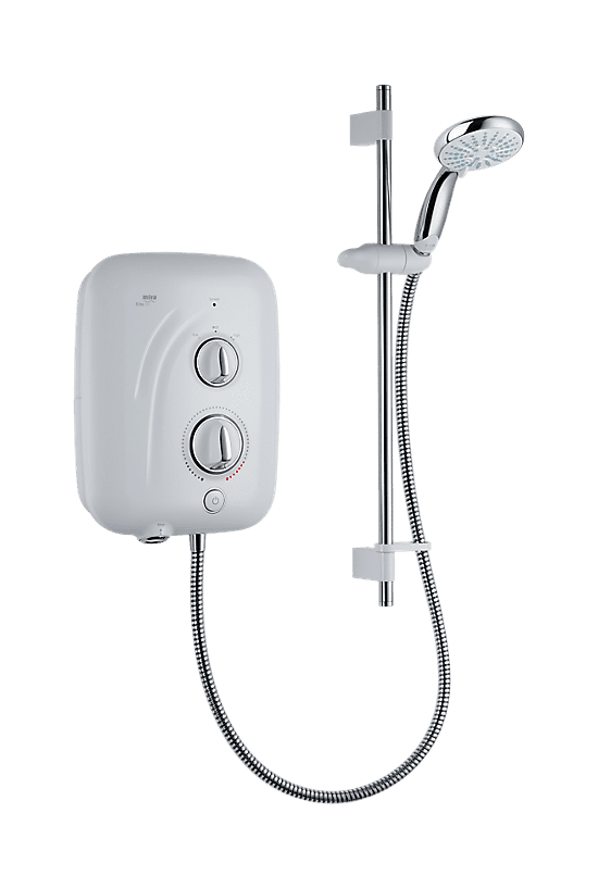 Mira Elite SE 9.8kW Pumped Electric Shower 1