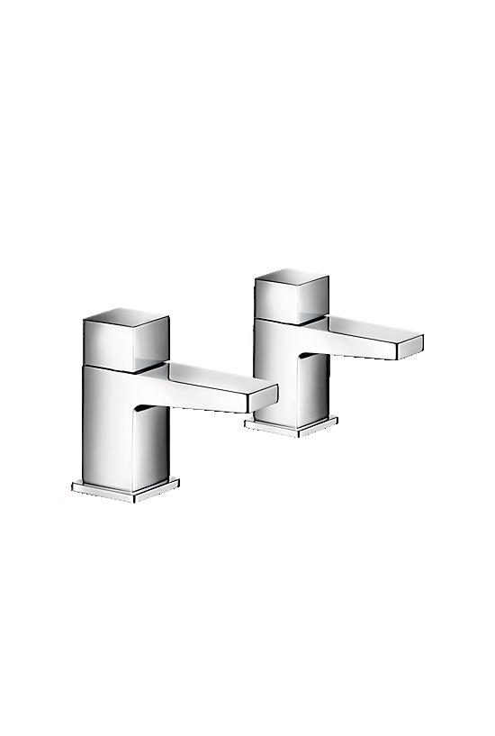 Mira Honesty Basin Pillar Taps - 1 - Showers Direct