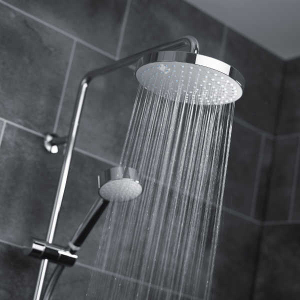 Mira Azora 9.8 kW Dual Electric Shower Frosted Glass - 2 - Showers Direct