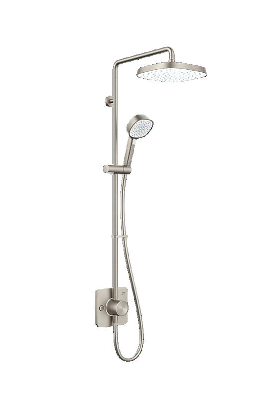 Mira Opero Dual Brushed Nickel - 1 - Showers Direct