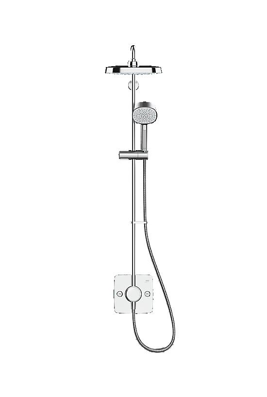 Mira Opero Dual Chrome - 2 - Showers Direct