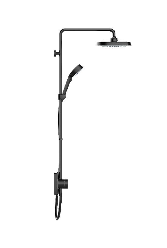 Mira Opero Dual Matt Black - 3 - Showers Direct