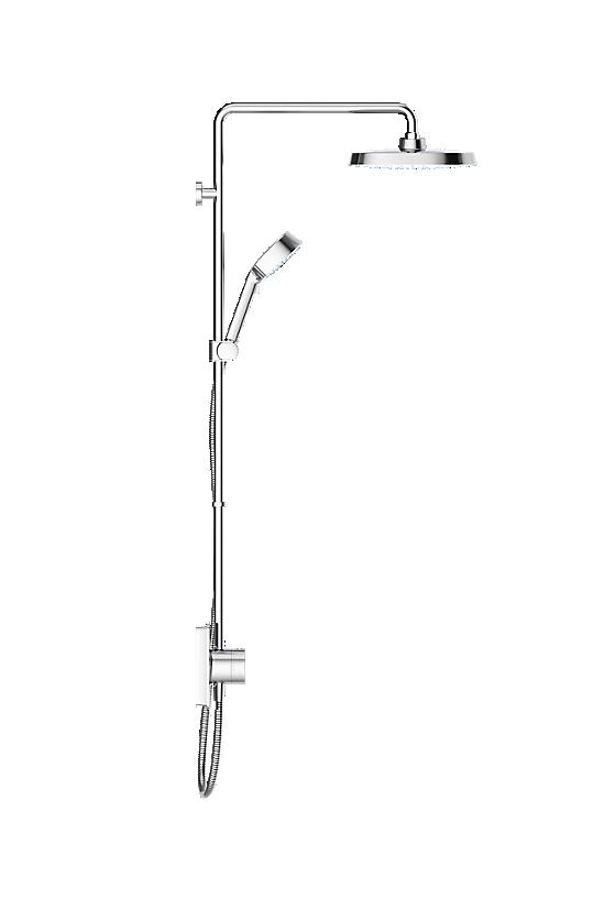 Mira Opero Dual Chrome - 3 - Showers Direct