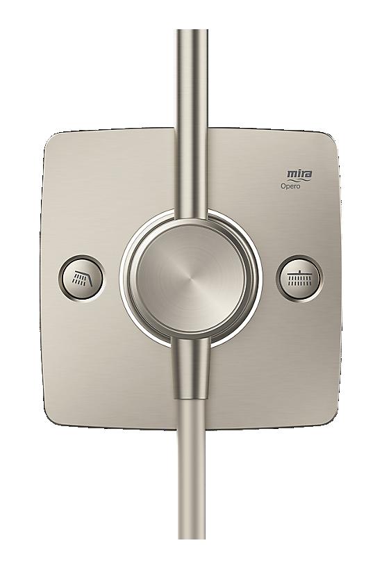 Mira Opero Dual Brushed Nickel - 4 - Showers Direct