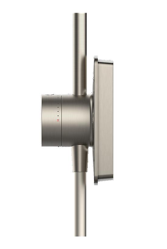 Mira Opero Dual Brushed Nickel - 5 - Showers Direct