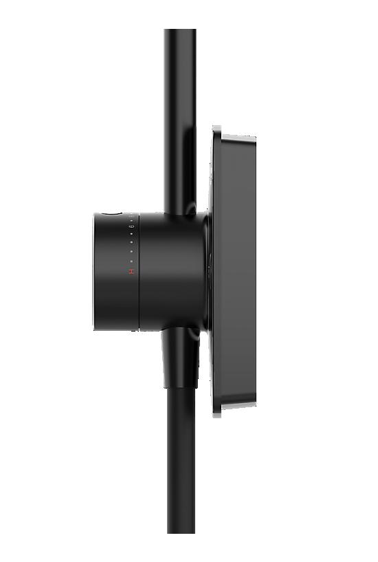 Mira Opero Dual Matt Black - 5 - Showers Direct