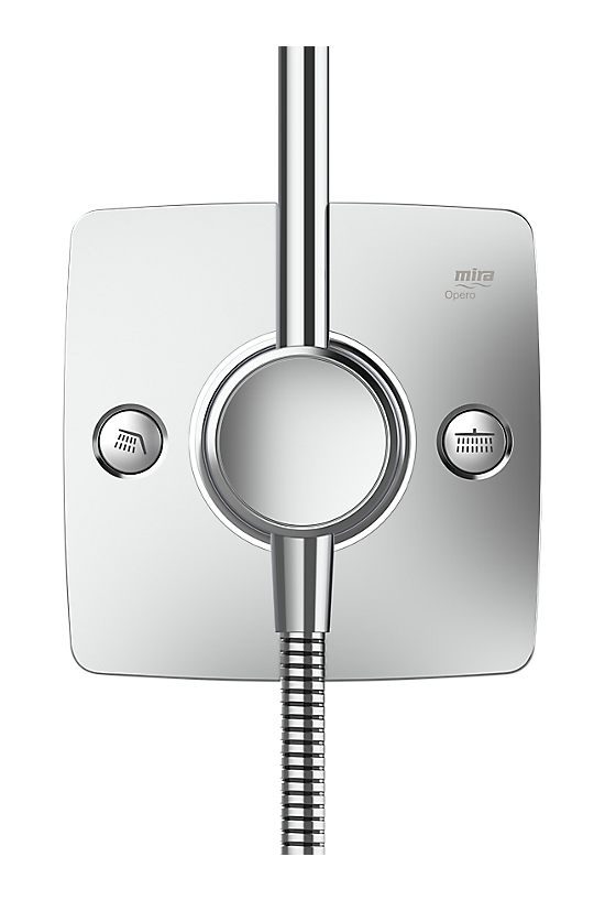 Mira Opero Dual Chrome - 4 - Showers Direct