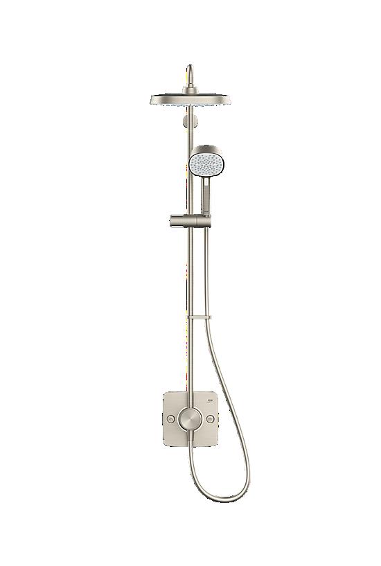 Mira Opero Dual Brushed Nickel - 2 - Showers Direct